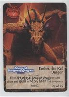 Ember, the Red Dragon [Noted]