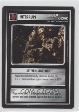 1994 Star Trek Customizable Card Game: 1st Edition Premiere - Black Border Expansion Set [Base] #ASSA - Asteroid Sanctuary