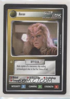 1994 Star Trek Customizable Card Game: 1st Edition Premiere - Black Border Expansion Set [Base] #BARA - Baran
