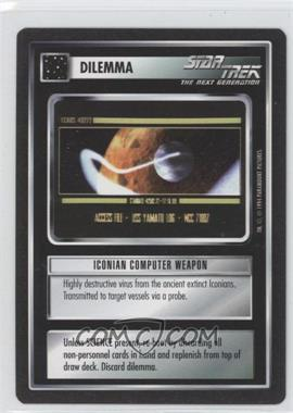 1994 Star Trek Customizable Card Game: 1st Edition Premiere - Black Border Expansion Set [Base] #ICWE - Iconian Computer Weapon