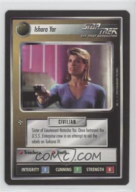 1994 Star Trek Customizable Card Game: 1st Edition Premiere - Black Border Expansion Set [Base] #ISYA - Ishara Yar