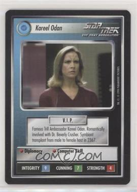 1994 Star Trek Customizable Card Game: 1st Edition Premiere - Black Border Expansion Set [Base] #KAOD - Kareel Odan