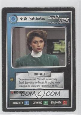 1994 Star Trek Customizable Card Game: 1st Edition Premiere - Black Border Expansion Set [Base] #LEBR - Dr. Leah Brahms