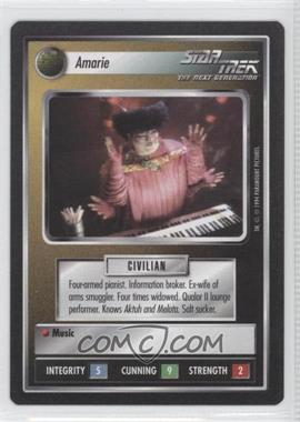 1994 Star Trek Customizable Card Game: 1st Edition Premiere - Black Border Expansion Set [Base] #NoN - Amarie