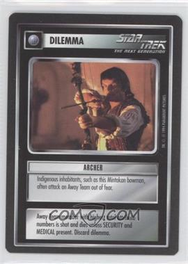 1994 Star Trek Customizable Card Game: 1st Edition Premiere - Black Border Expansion Set [Base] #NoN - Archer
