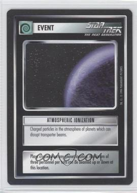 1994 Star Trek Customizable Card Game: 1st Edition Premiere - Black Border Expansion Set [Base] #NoN - Atmospheric Ionization