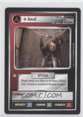 1994 Star Trek Customizable Card Game: 1st Edition Premiere - Black Border Expansion Set [Base] #NoN - Batrell