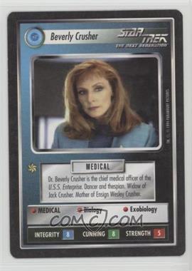 1994 Star Trek Customizable Card Game: 1st Edition Premiere - Black Border Expansion Set [Base] #NoN - Beverly Crusher