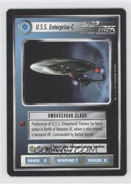 1994 Star Trek Customizable Card Game: 1st Edition Premiere - Black Border Expansion Set [Base] #NoN - U.S.S. Enterprise-C