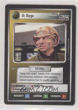 1994 Star Trek Customizable Card Game: 1st Edition Premiere - Black Border Expansion Set [Base] #REYG - Dr. Reyga