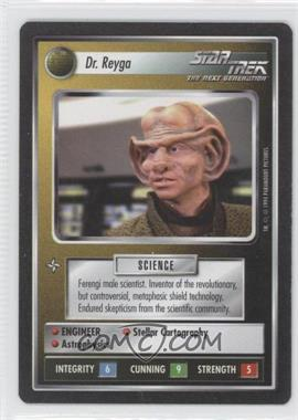 1994 Star Trek Customizable Card Game: 1st Edition Premiere - Black Border Expansion Set [Base] #REYG - Dr. Reyga