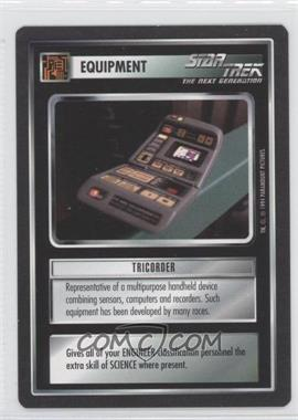 1994 Star Trek Customizable Card Game: 1st Edition Premiere - Black Border Expansion Set [Base] #TRIC - Tricorder