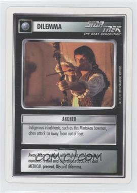 1994 Star Trek Customizable Card Game: 1st Edition Premiere - White Bordered Expansion Set [Base] #ARCH - Archer