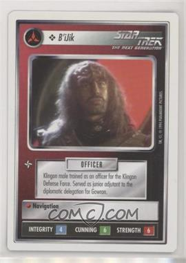 1994 Star Trek Customizable Card Game: 1st Edition Premiere - White Bordered Expansion Set [Base] #BIJI - B'iJik