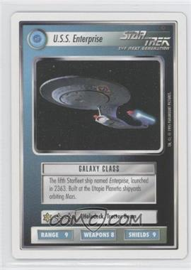 1994 Star Trek Customizable Card Game: 1st Edition Premiere - White Bordered Expansion Set [Base] #ENTE - U.S.S. Enterprise