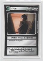 Espionage: Romulan on Federation