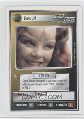 1994 Star Trek Customizable Card Game: 1st Edition Premiere - White Bordered Expansion Set [Base] #ETJO - Etana Jol