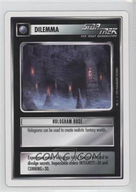 1994 Star Trek Customizable Card Game: 1st Edition Premiere - White Bordered Expansion Set [Base] #HORU - Hologram Ruse