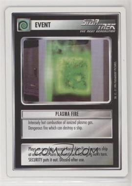 1994 Star Trek Customizable Card Game: 1st Edition Premiere - White Bordered Expansion Set [Base] #PLFI - Plasma Fire