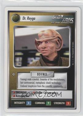 1994 Star Trek Customizable Card Game: 1st Edition Premiere - White Bordered Expansion Set [Base] #REYG - Dr. Reyga