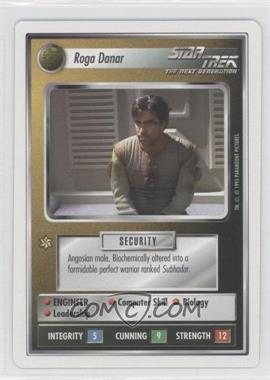 1994 Star Trek Customizable Card Game: 1st Edition Premiere - White Bordered Expansion Set [Base] #RODA - Roga Danar