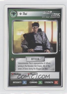 1994 Star Trek Customizable Card Game: 1st Edition Premiere - White Bordered Expansion Set [Base] #THEI - Thei