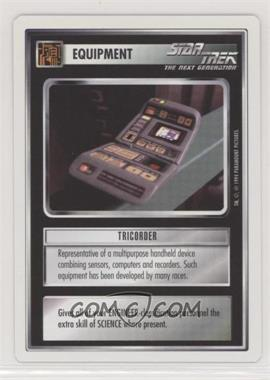 1994 Star Trek Customizable Card Game: 1st Edition Premiere - White Bordered Expansion Set [Base] #TRIC - Tricorder