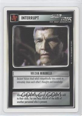 1994 Star Trek Customizable Card Game: 1st Edition Premiere - White Bordered Expansion Set [Base] #VUMI - Vulcan Mindmeld