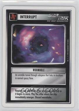1994 Star Trek Customizable Card Game: 1st Edition Premiere - White Bordered Expansion Set [Base] #WORM - Wormhole