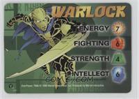 Warlock Character Card (M-Tech Comics Promo)