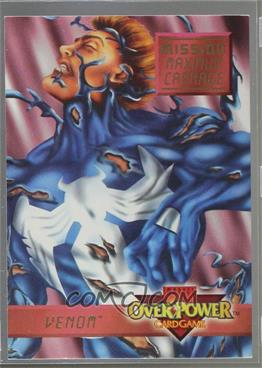 1995 Marvel Overpower Collectible Card Game Mission Maximum
