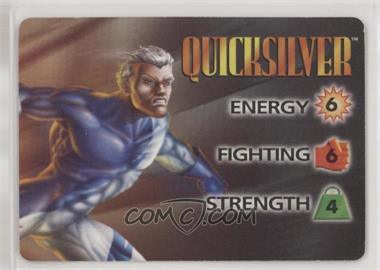 1995 Marvel Overpower Collectible Card Game - Normal Character Cards [Base] #NoN - Quicksilver