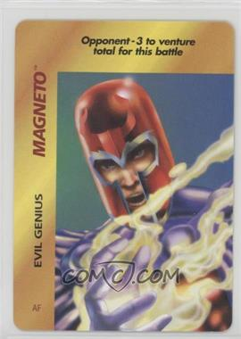 1995 Marvel Overpower Collectible Card Game - Special Character Cards [Base] #AF - Magneto (Evil Genius)