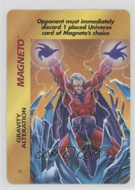 1995 Marvel Overpower Collectible Card Game - Special Character Cards [Base] #AI - Magneto (Gravity Alteration)