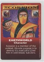 Scorpion - Earthworld Character Card
