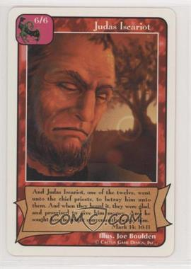 1995 Redemption - Collectible Card Game: b - Starter Deck [275753] #JUIS - Judas Iscariot
