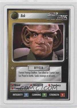 1995 Star Trek Customizable Card Game: 1st Edition Premiere - White Bordered Expansion Set [Base] - 2nd Printing #BOK - Bok