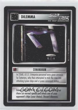 1995 Star Trek Customizable Card Game: Alternate Universe - Expansion Set [Base] #CONU - Conundrum