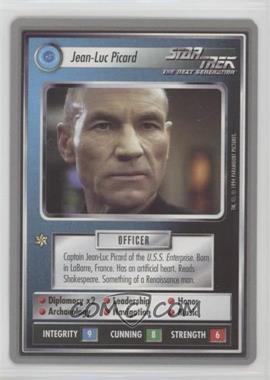 1995 Star Trek Customizable Card Game: Premiere - Collector's Tin [Base] #JLPI - Jean-Luc Picard