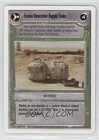 Fusion Generator Supply Tanks