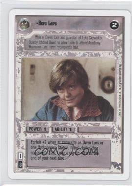1995 Star Wars Customizable Card Game: Premiere - Expansion Set [Base] - Unlimited White Border #NoN - Beru Lars
