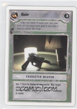 1995 Star Wars Customizable Card Game: Premiere - Expansion Set [Base] - Unlimited White Border #NoN - Blaster