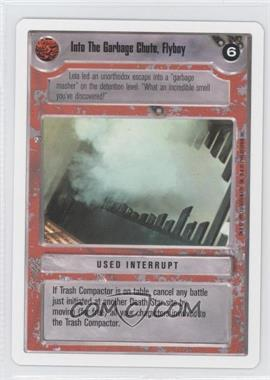 1995 Star Wars Customizable Card Game: Premiere - Expansion Set [Base] - Unlimited White Border #NoN - Into the Garbage Chute, Flyboy