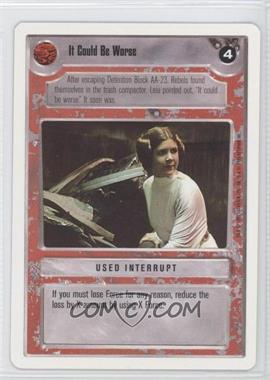 1995 Star Wars Customizable Card Game: Premiere - Expansion Set [Base] - Unlimited White Border #NoN - It Could Be Worse