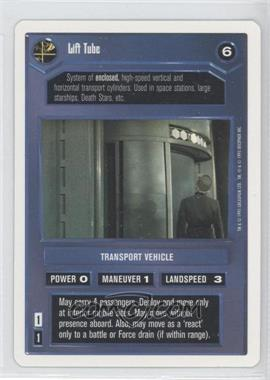 1995 Star Wars Customizable Card Game: Premiere - Expansion Set [Base] - Unlimited White Border #NoN - Lift Tube (Dark)