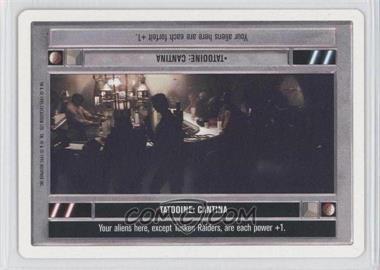 1995 Star Wars Customizable Card Game: Premiere - Expansion Set [Base] - Unlimited White Border #TACA - Tatooine: Cantina (Dark)