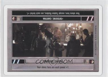 1995 Star Wars Customizable Card Game: Premiere - Expansion Set [Base] - Unlimited White Border #TACA - Tatooine: Cantina (Light)