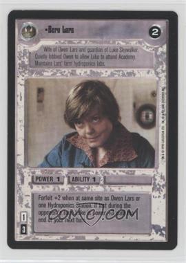 1995 Star Wars Customizable Card Game: Premiere - Expansion Set [Base] #BELA - Beru Lars