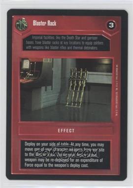 1995 Star Wars Customizable Card Game: Premiere - Expansion Set [Base] #BLRA - Blaster Rack