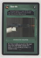 Blaster Rifle (Dark)